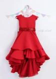 Детское платье Аврора, цвет красный