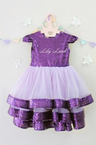 Детское платье Бруклин, цвета лаванда