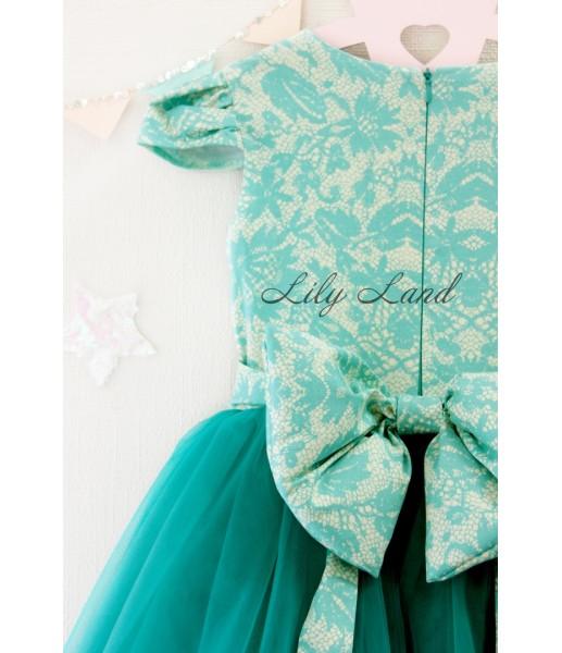 Детское платье Бруклин, цвета бирюза