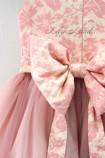 Детское платье Бруклин, цвета персик