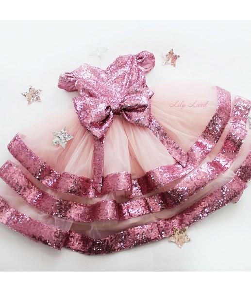 Детское платье Бруклин, цвет розовый