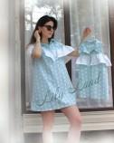Комплект летних платьев, цвет мята