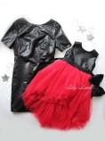 Комплект платьев Фатиновый рай, цвет черный