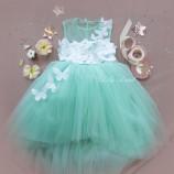 Детское платье Флер, цвет мята