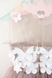 Детское платье Флер, цвет шампань
