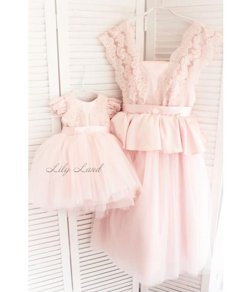 Комплект платьев Офелия, цвет розовый
