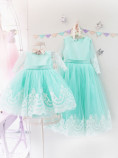 Комплект платьев Амели, цвет бирюза