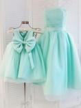 Комплект платьев Зефирное облако, цвет бирюза