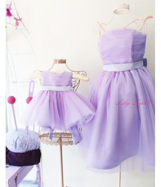 Комплект платьев Зефирное облако, цвет лаванда