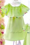 Комплект платьев Колокольчик, цвета зеленый