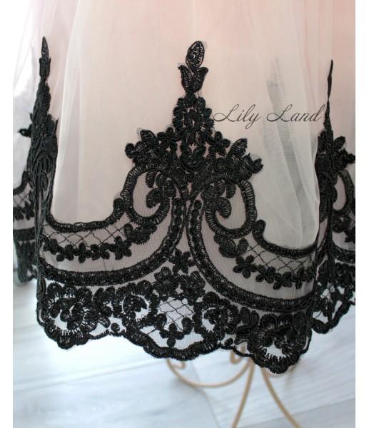 Комплект платьев Амели, цвет черный и розовый