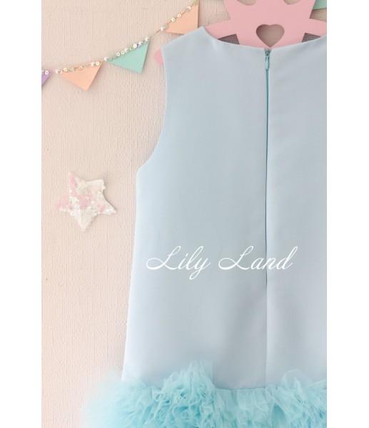 Детское платье Лолита, в цвете голубой