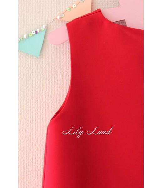 Детское платье Лолита, цвет красный