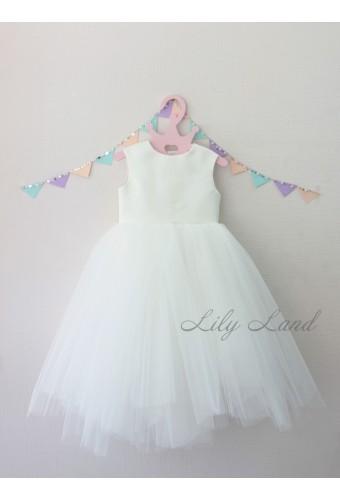 Платье Ангельское сердце, цвет белый