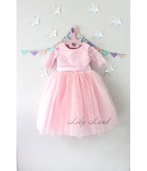 Детское платье Мелисса, цвета розовый