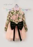 Детское платье Мэри, цвет персик