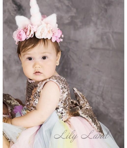 Детское платье MyLittlePonny без шлейфа