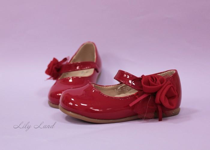 Пинетки, цвет красный