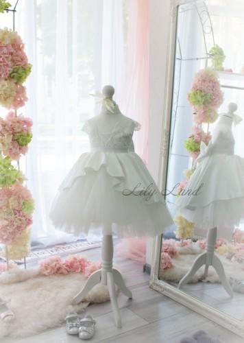 Детское платье Офелия, цвет айвори