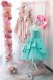 Детское платье Офелия, цвет бирюза