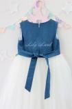 Детское летнее платье, цвет айвори