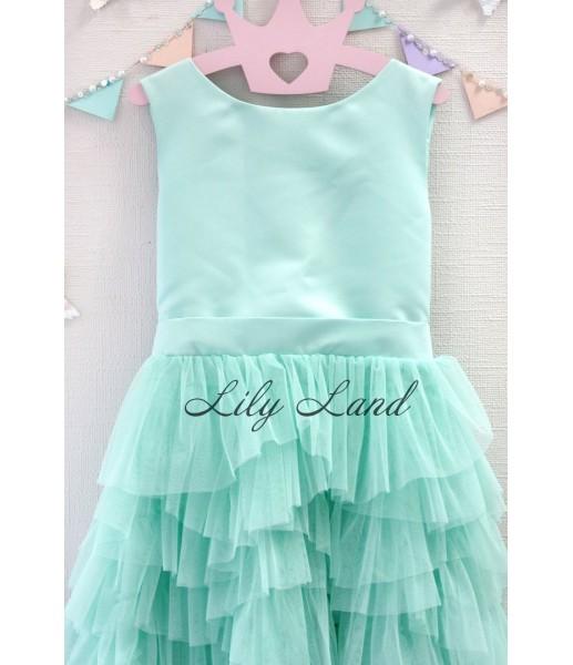 Детское платье Урсула, цвет мята