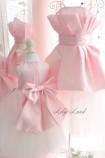 Комплект платьев Жозефина, цвет розовый