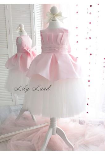 Детское платье Жозефина, цвет розовый