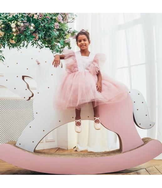 Детское нарядное платье Арин, цвет тауп
