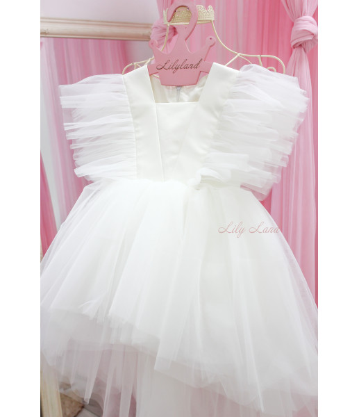 Детское нарядное платье Арин, цвет белый