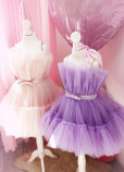 Детское нарядное платье Барби, цвет лаванда