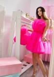 Комплект нарядных платьев Барби цвет ярко малиновый