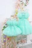 Комплект нарядных платьев Барби цвет мята