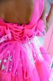 Детское нарядное платье Барби, цвет барби со звездами