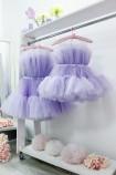 Комплект нарядных платьев Барби цвет лаванда