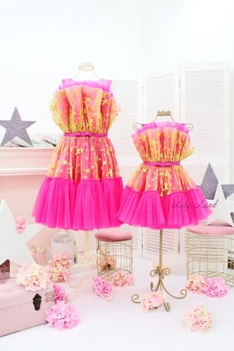 Комплект нарядных платьев Барби, цвет Барби со звездами