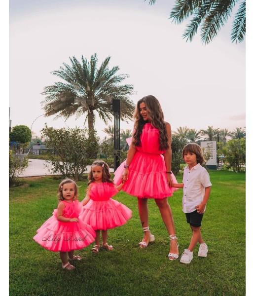 Комплект нарядных платьев Барби цвет бирюза