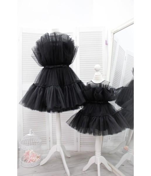 Комплект нарядных платьев Барби цвет черный
