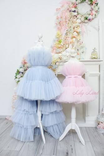 Комплект нарядных платьев Барби цвет нежно розовый и серо-голубой