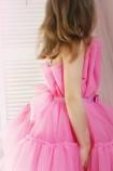 Детское нарядное платье Барби, цвет барби