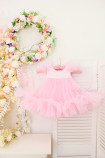 Детское платье Белль, цвет розовый