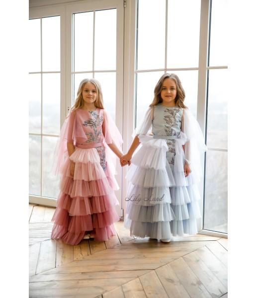 Детское платье Элина, цвет чайная роза