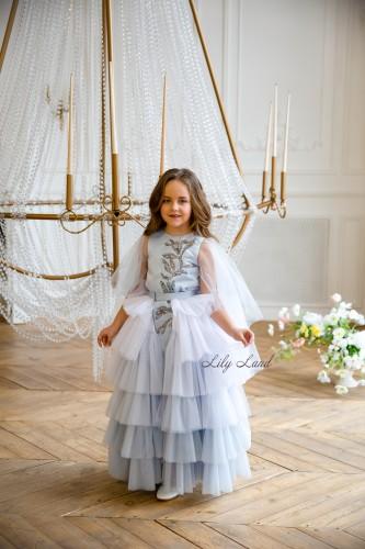 Детское платье Элина, цвет голубой