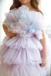 Детское нарядное платье Хлоя, цвет лаванда
