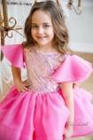 Детское нарядное платье Наоми, цвет барби