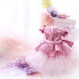 Детское платье Нинель, цвет розовый