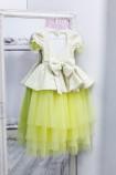 Детское платье Нинель, цвет желтый