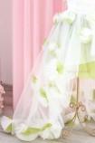 Детское нарядное платье Рапунцель, цвет оливка