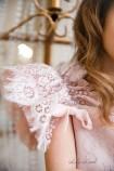Детское нарядное платье Шанти, цвет пудра