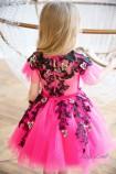 Детское нарядное платье Шарлис, цвет малина